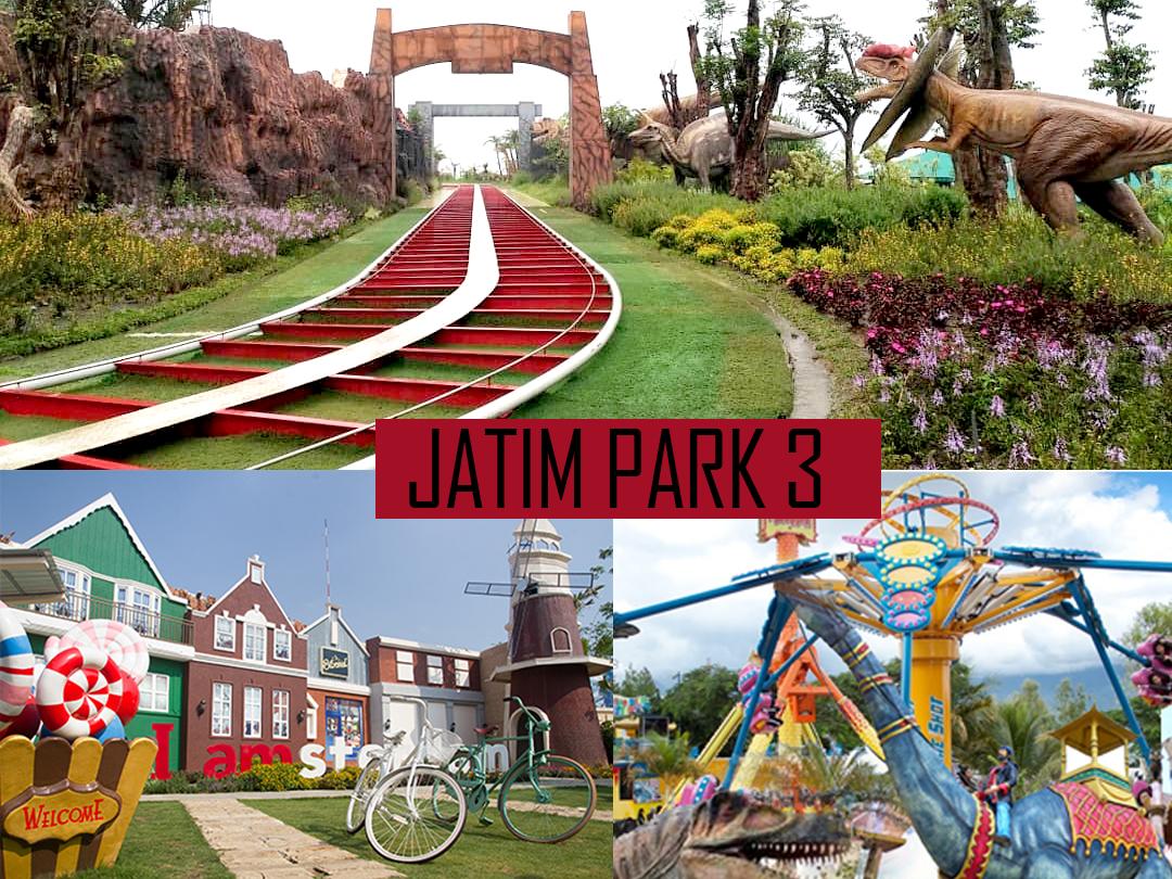 Jawa Timur Park 1 2 3 Batu Malang Wahana Tiket Masuk 2019
