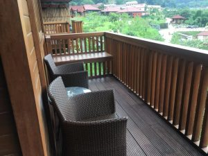 pemandangan dari kamar The Onsen Resort